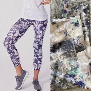 Marika watercolor capri leggings XL